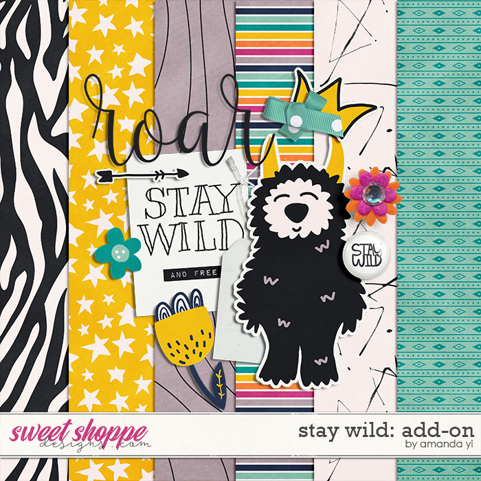 Stay Wild Add-on by Amanda Yi