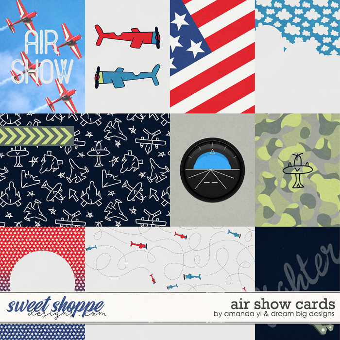 Air Show Cards by Amanda Yi and Dream Big Designs