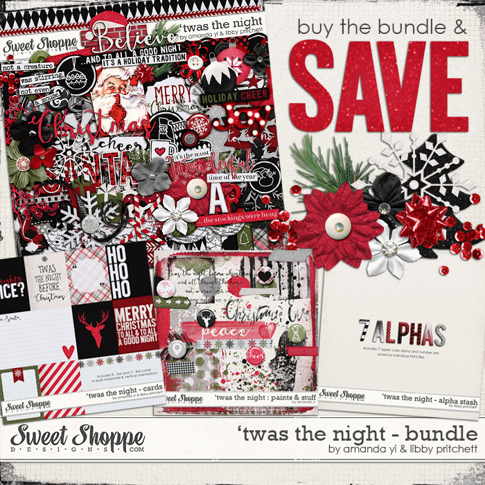 'Twas the Night : Bundle by Amanda Yi & Libby Pritchett