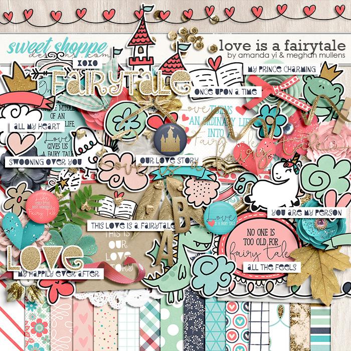 Love is a Fairy Tale by Amanda Yi Designs & Meghan Mullens