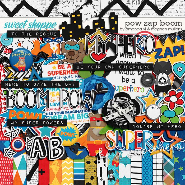 Pow Zap Boom by Amanda Yi Designs & Meghan Mullens