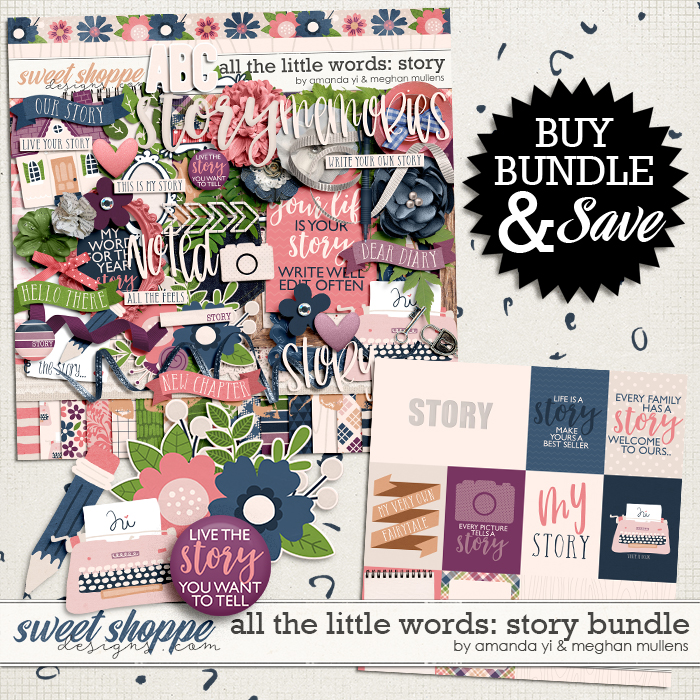 All The Little Words-Story Bundle by Amanda Yi and Meghan Mullens