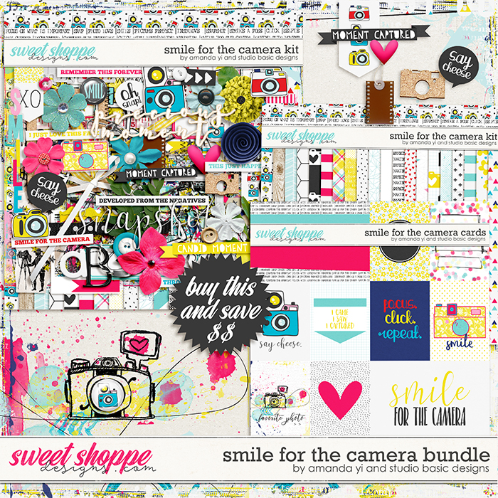Smile For The Camera: Bundle by Amanda Yi & Studio Basic Designs