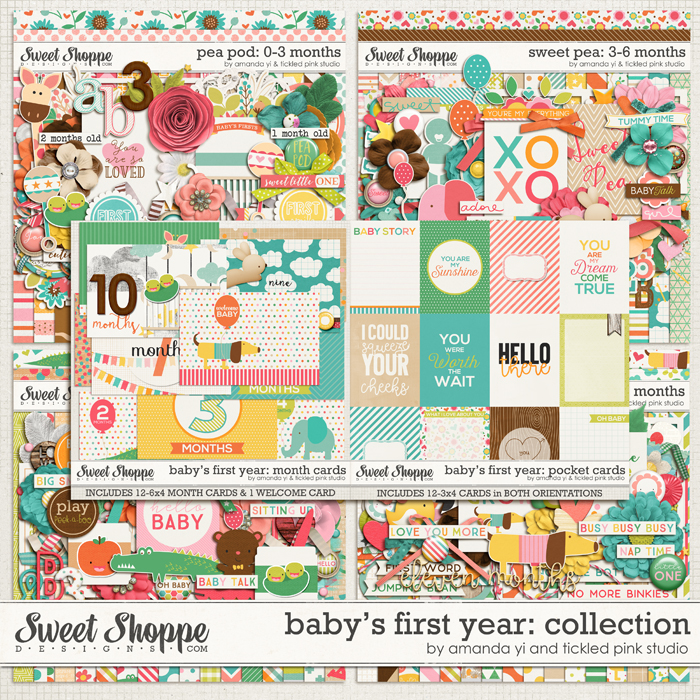 Baby's First Year : Collection by Amanda Yi & Tickled Pink Studio