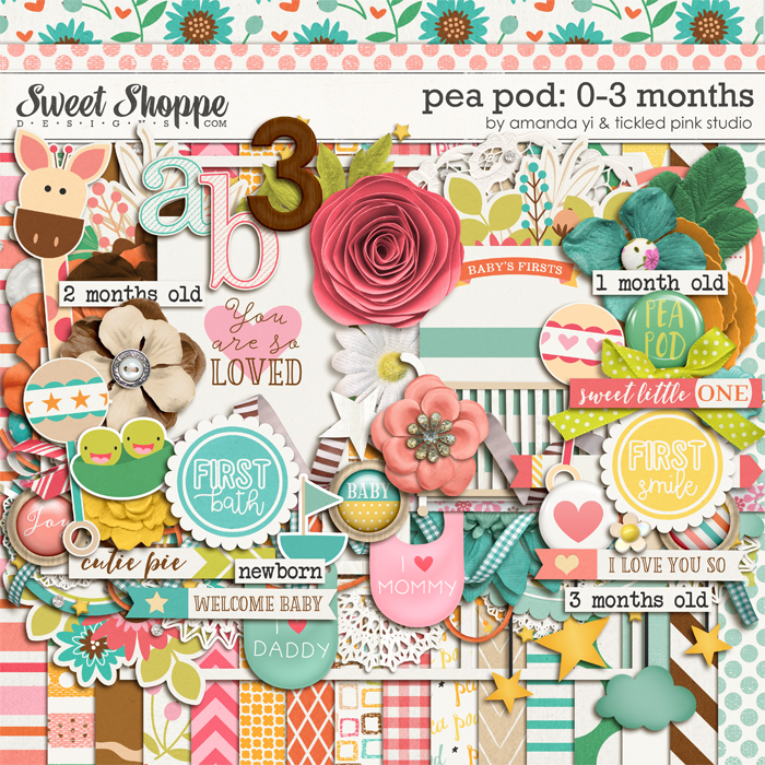 Pea Pod: 0-3 Months by Amanda Yi & Tickled Pink Studio
