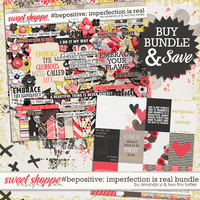 #bepositive: Imperfection Is Real bundle by Amanda Yi & Two Tiny Turtles