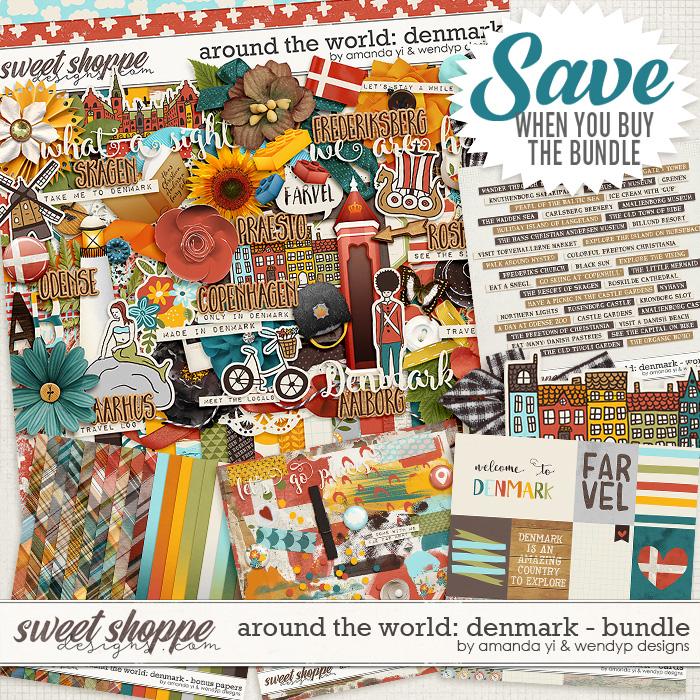 Around the world: Denmark bundle by Amanda Yi & WendyP Designs
