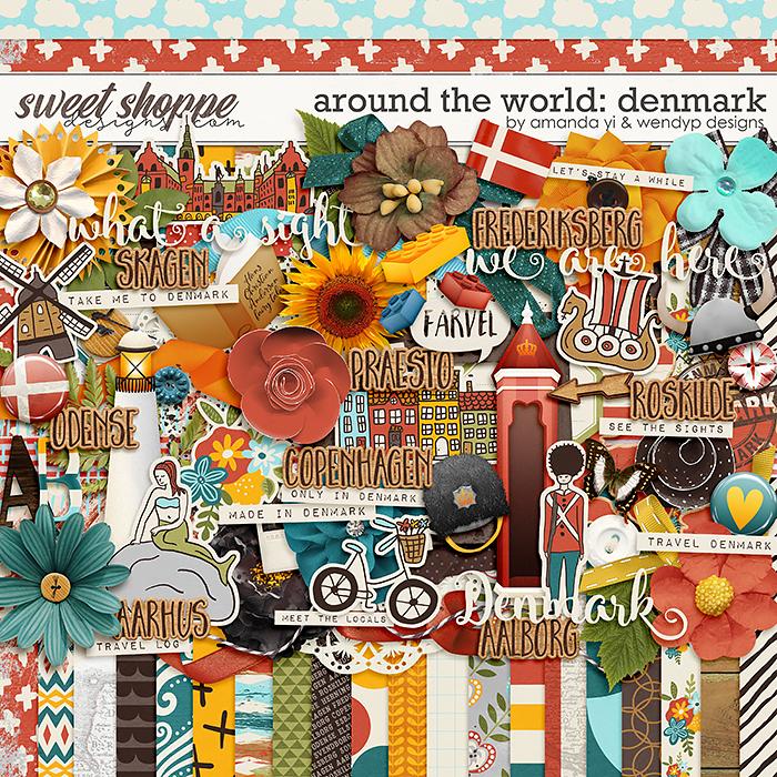 Around the world: Denmark by Amanda Yi & WendyP Designs