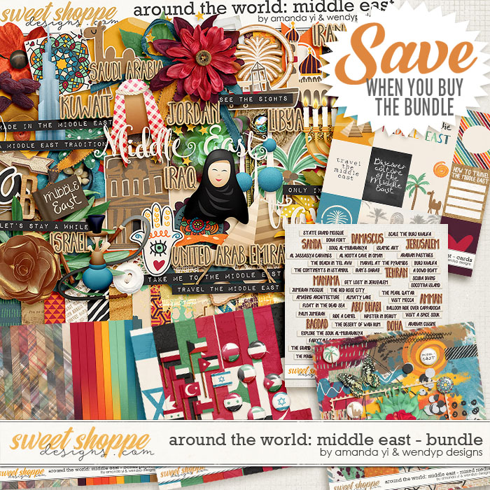 Around the world: Middle East bundle +FWP by Amanda Yi & WendyP Designs