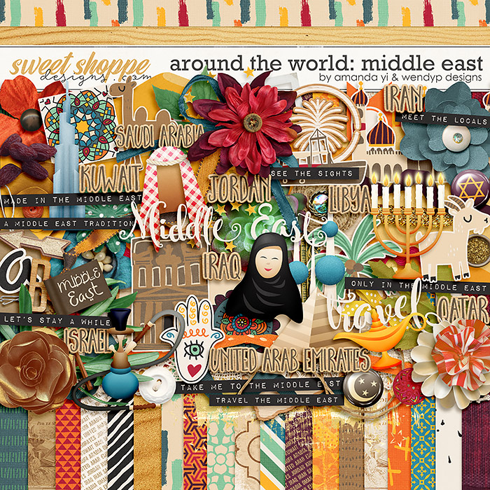 Around the world: Middle East by Amanda Yi & WendyP Designs
