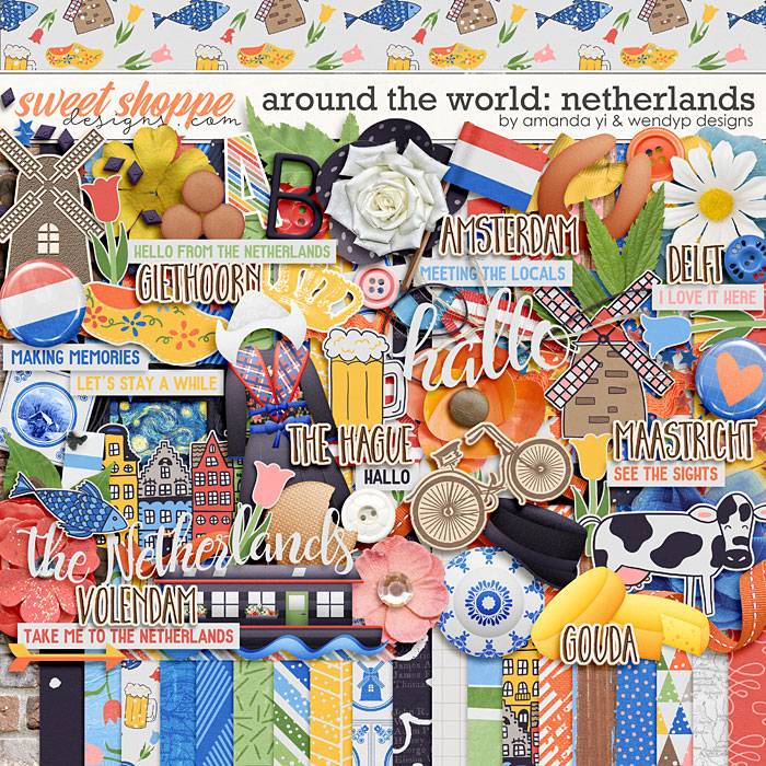 Around the world: Netherlands by Amanda Yi & WendyP Designs
