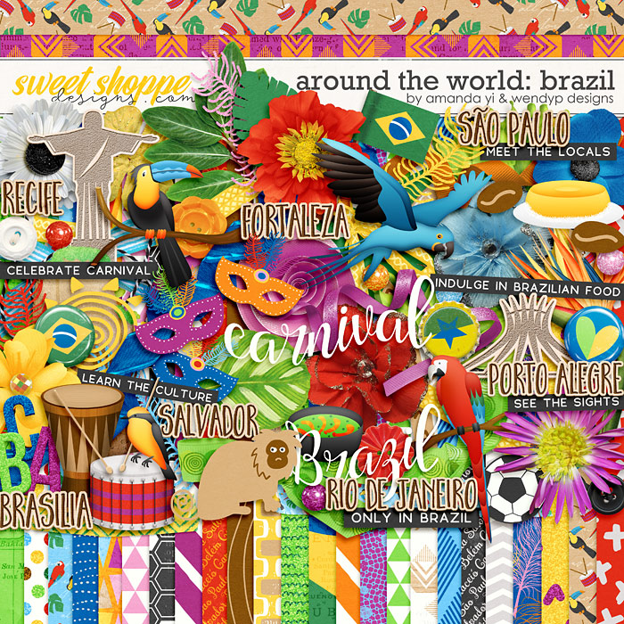 Around the world: Brazil by Amanda Yi & WendyP Designs