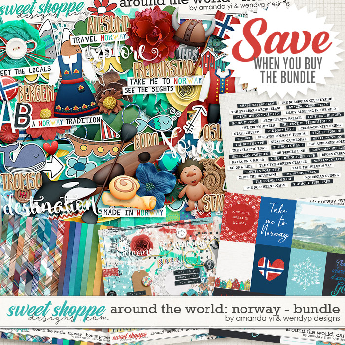 Around the world: Norway - Bundle by Amanda Yi & WendyP Designs