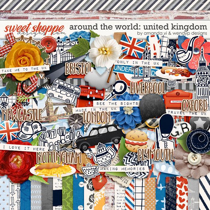 Around the world: United Kingdom by Amanda Yi & WendyP Designs