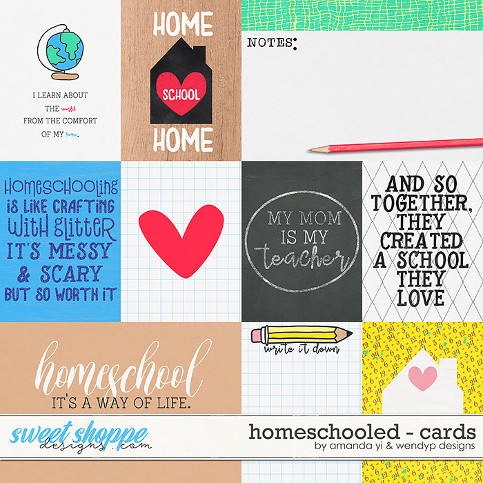 Homeschooled: Cards by Amanda Yi & WendyP Designs