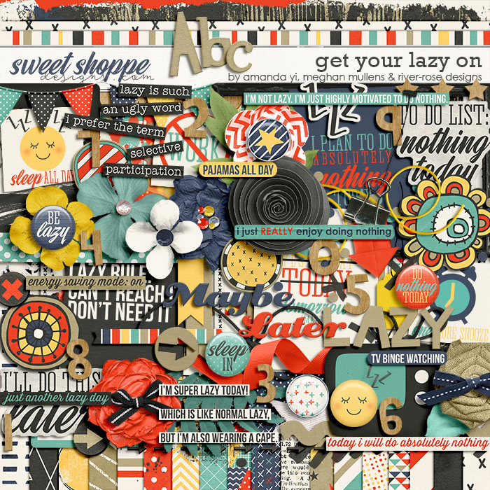 Get Your Lazy On by Amanda Yi, Meghan Mullens, & River Rose Designs