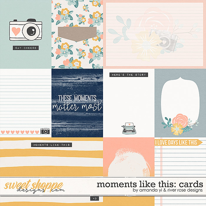 Moments Like This: Cards by Amanda Yi & River Rose Designs