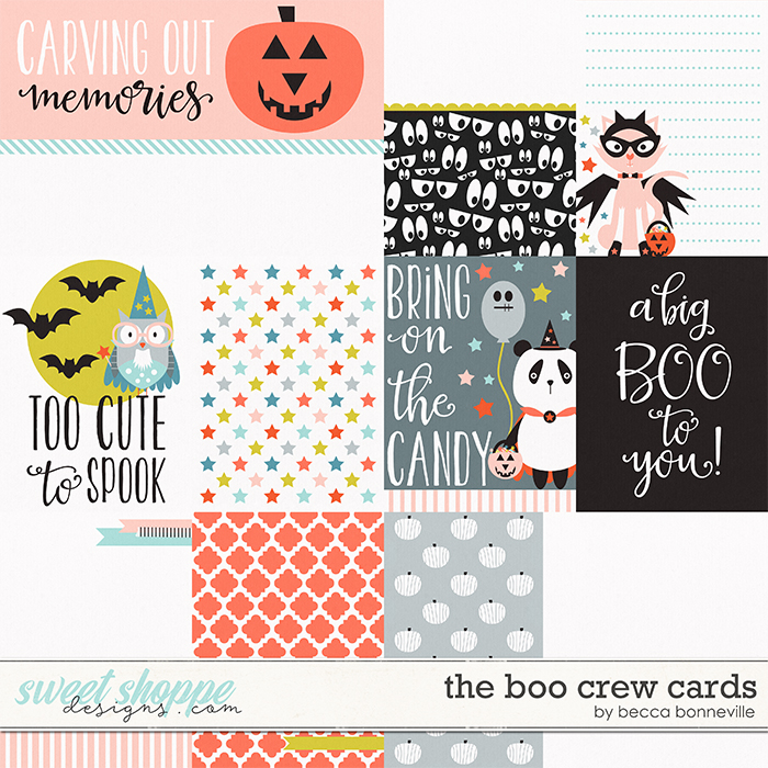The Boo Crew Cards by Becca Bonneville