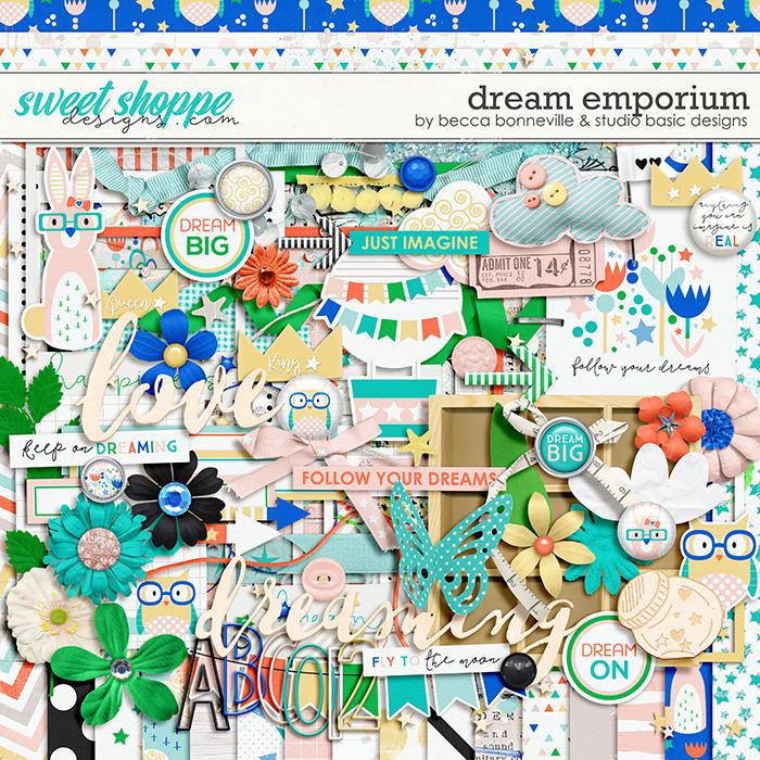 Dream Emporium Kit by Becca Bonneville & Studio Basic Designs