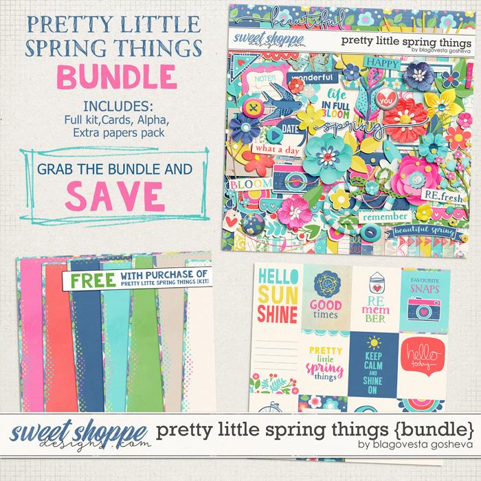 Pretty Little Spring Things {bundle} by Blagovesta Gosheva