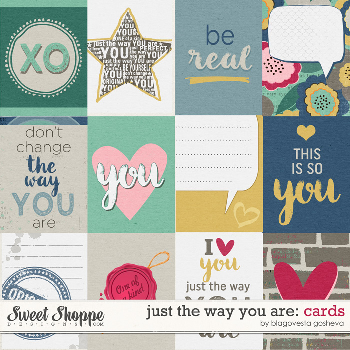 Just the way you are: Cards by Blagovesta Gosheva