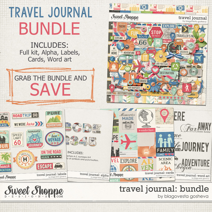 Travel Journal: Bundle by Blagovesta Gosheva