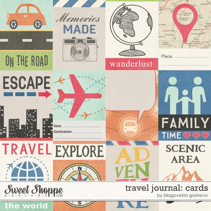 Travel Journal: Cards by Blagovesta Gosheva