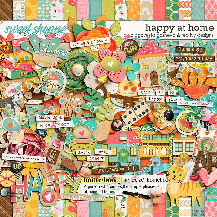 Happy at Home by Blagovesta Gosheva & Red Ivy Design