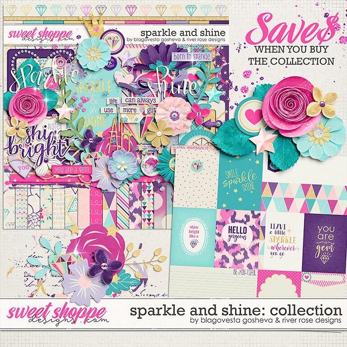 Sparkle and Shine {bundle} by Blagovesta Gosheva & River Rose Designs