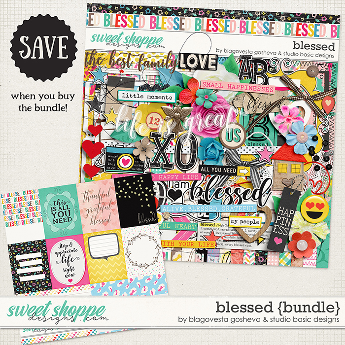 Blessed Bundle by Blagovesta Gosheva and Studio Basic