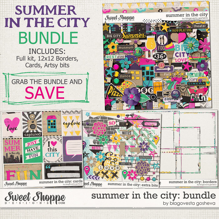 Summer in the city: Bundle by Blagovesta Gosheva