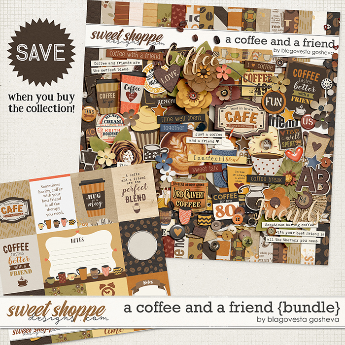 A Coffee and a Friend {bundle} by Blagovesta Gosheva