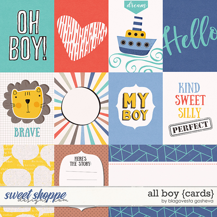 All Boy {cards} by Blagovesta Gosheva