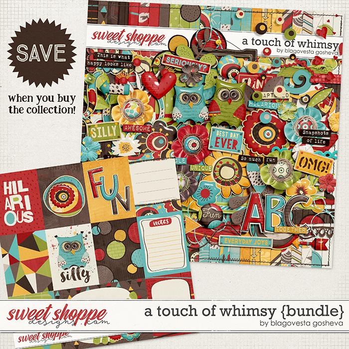 A Touch of Whimsy {bundle} by Blagovesta Gosheva