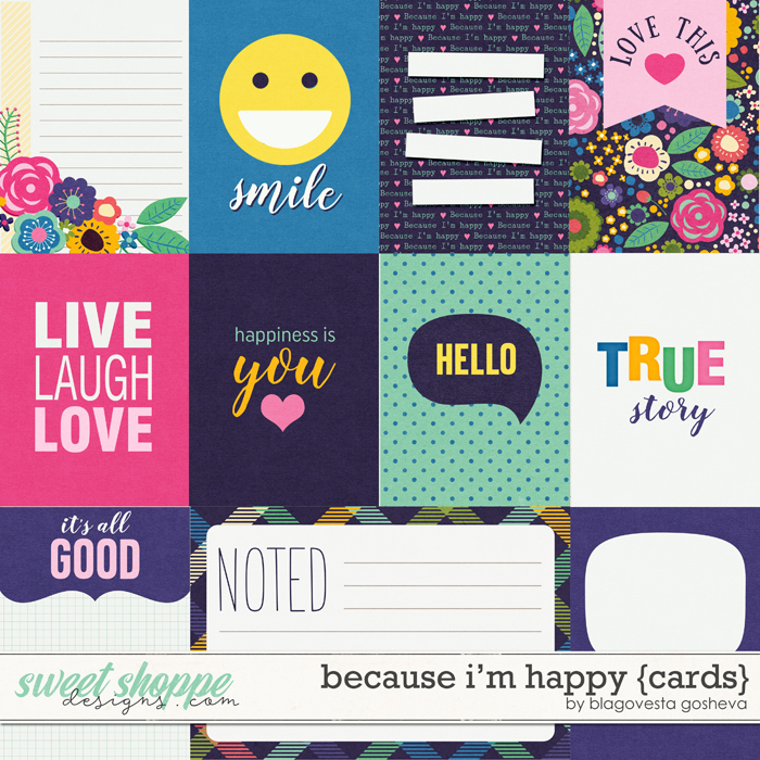 Because I'm Happy {cards} by Blagovesta Gosheva
