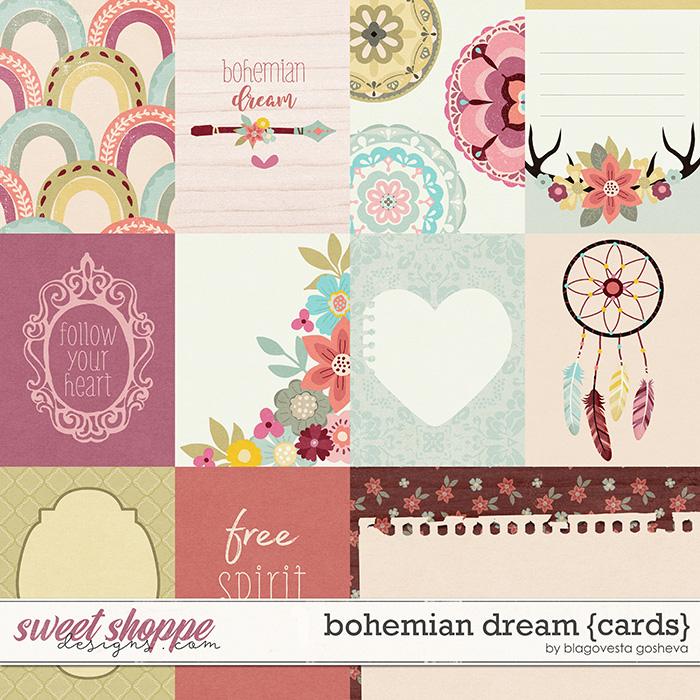 Bohemian Dream {cards} by Blagovesta Gosheva