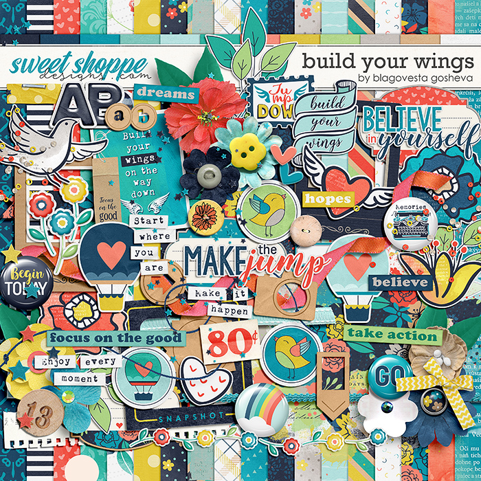 Build your wings by Blagovesta Gosheva