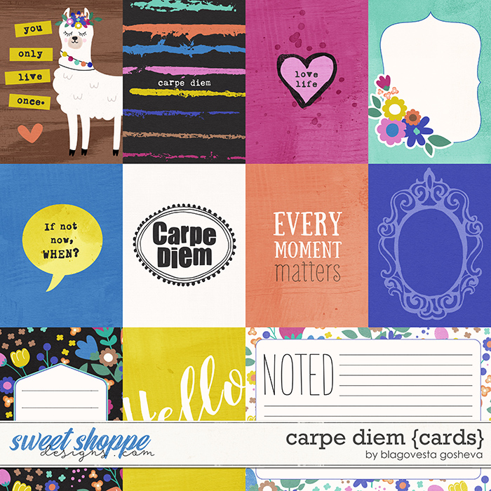 Carpe Diem {cards} by Blagovesta Gosheva