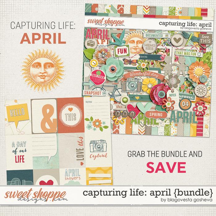 Capturing life: April {Bundle} by Blagovesta Gosheva