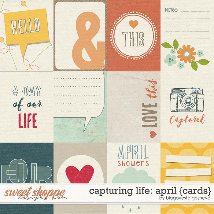 Capturing life: April {Cards} by Blagovesta Gosheva