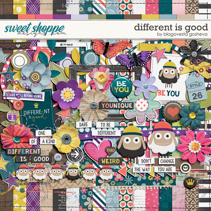 Different is good by Blagovesta Gosheva