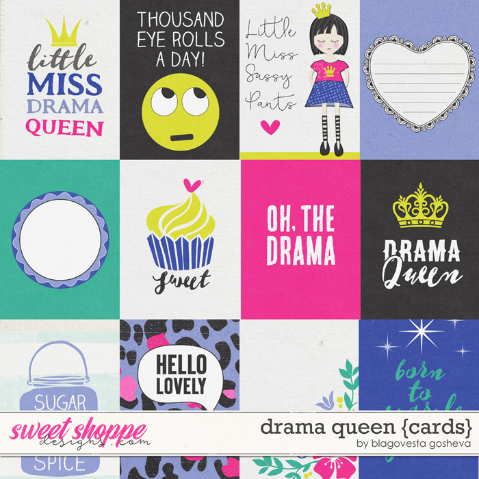 Drama Queen {cards} by Blagovesta Gosheva
