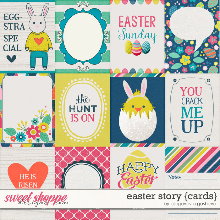 Easter story {cards} by Blagovesta Gosheva