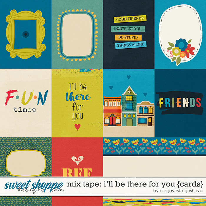I'll be There for You {cards} by Blagovesta Gosheva