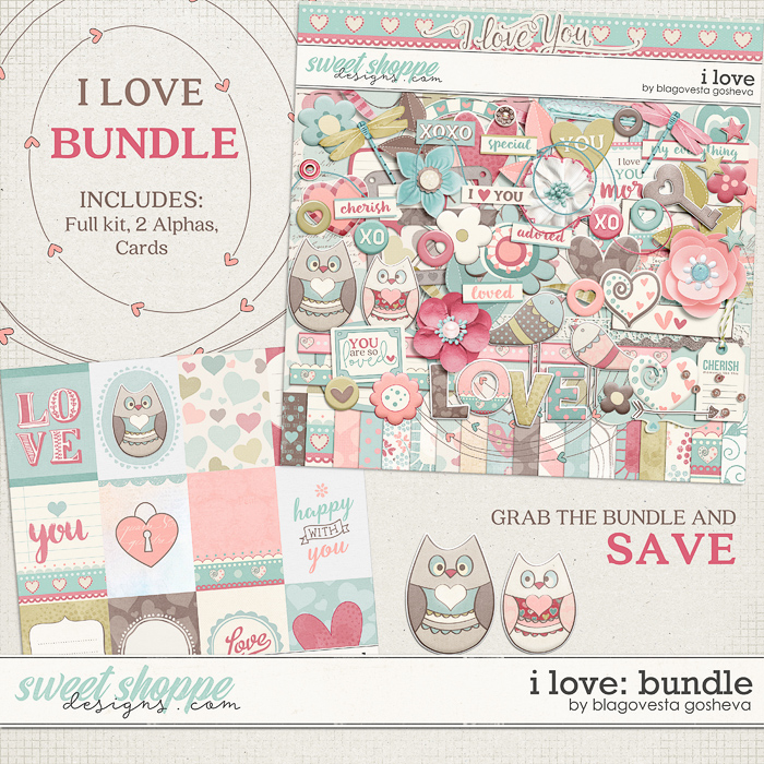 I love {bundle} by Blagovesta Gosheva