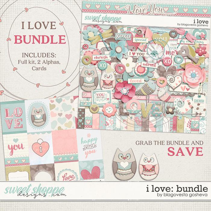 I love {bundle} by Blagovesta Gosheva