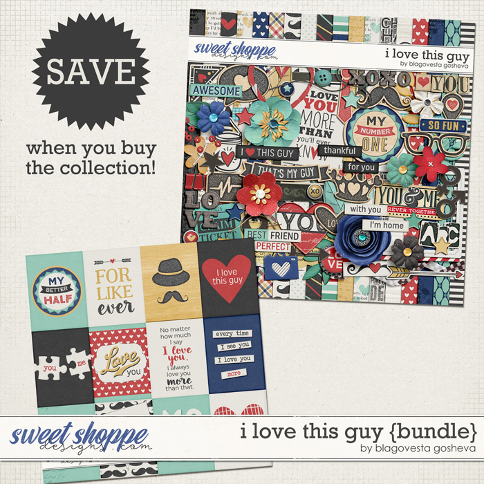 I Love This Guy {bundle}  by Blagovesta Gosheva