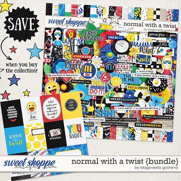 Normal with a twist {bundle} by Blagovesta Gosheva