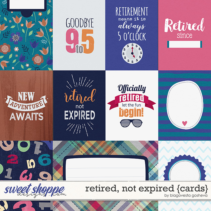 Retired, Not Expired {cards} by Blagovesta Gosheva