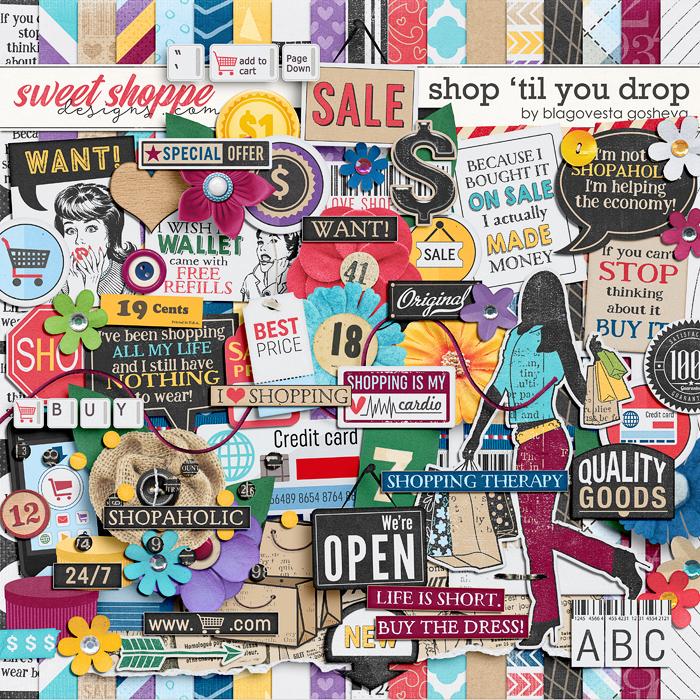 Shop 'Til You Drop by Blagovesta Gosheva